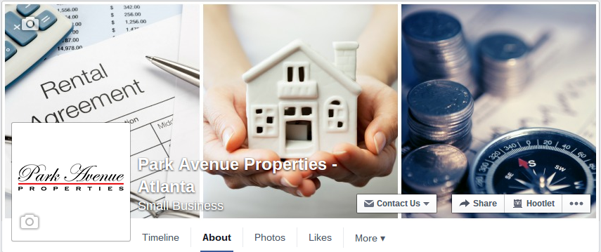 Connect With Park Avenue Properties Atlanta On Facebook